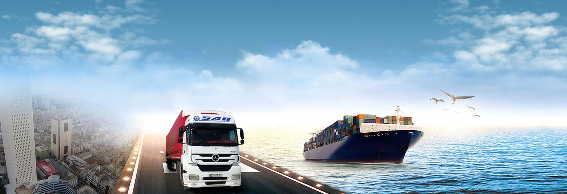 Karada, denizde veya havada hızlı, güvenli ve tam zamanında teslimat