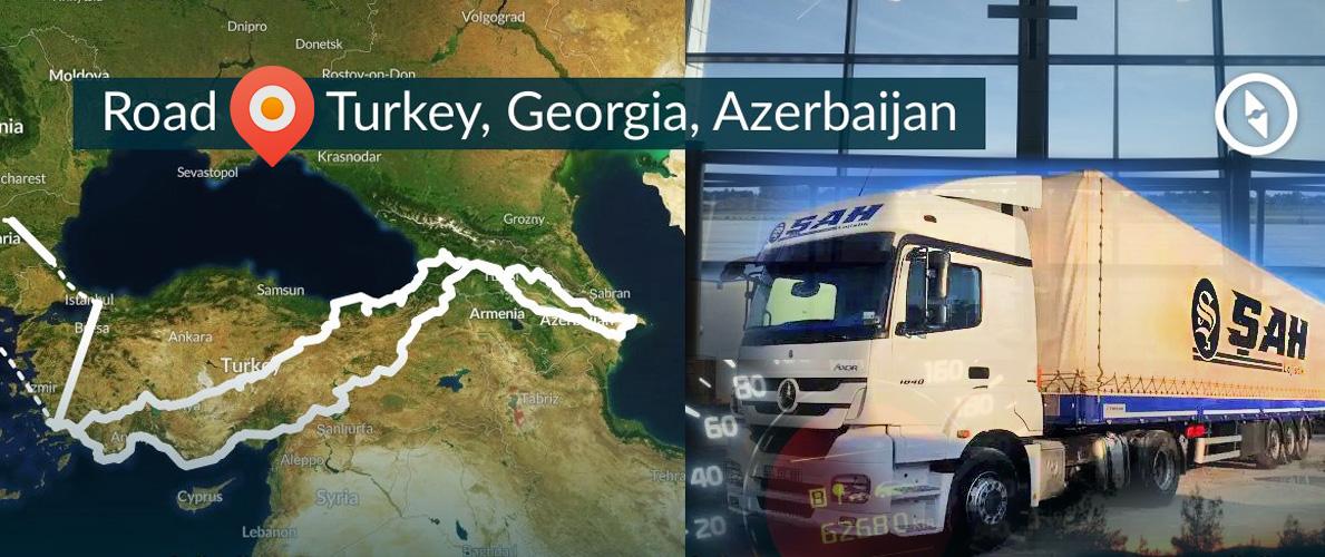 Azerbaycan Gürcistan Türkiye Hattı