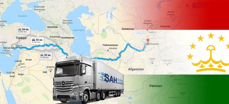 Tacikistan Nakliye 2021